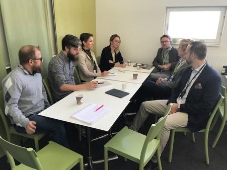 Deltagare på BioLi-möte