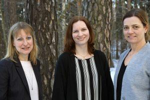 Marie Anheden, Katarina Ohlsson och Åsa Håkansson