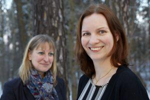 Marie Anheden och Katarina Ohlsson