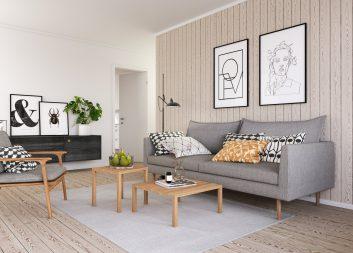 Ny studie visar: Växande marknad för interiört trä
