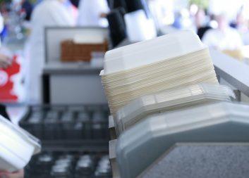 Takeaway-låda i cellulosa på väg mot kommersialisering