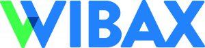 Logotype för Wibax.