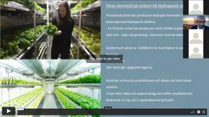 Introduktionssida till presentationsfilm för Solfirman