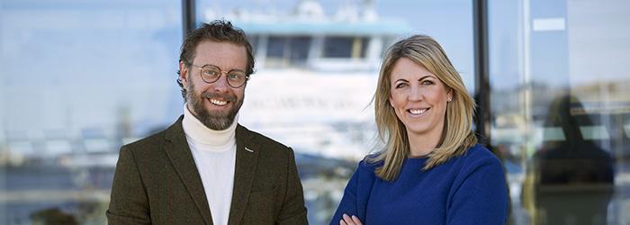 Erik Perzon och Hanna de la Motte