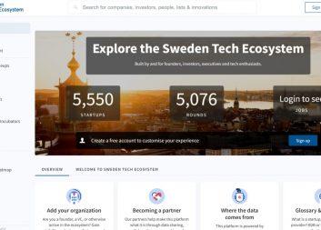 Nu lanseras Sweden Tech Ecosystem – en databas som synliggör den växande tech-sektorn